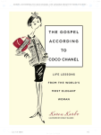 """The Gospel by Coco Chanel"" by Karen Karbo"